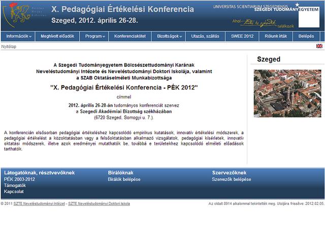 X. Pedagógiai Értékelési Konferencia