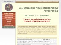VII. Országos Neveléstudományi Konferencia
